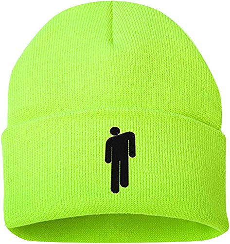 Gorro Unisex Sombreros Cálidos de Invierno Gorros De Punto Elástico para Hombres y Mujeres