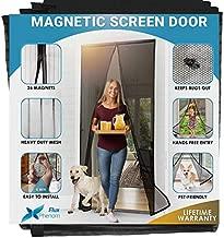 Flux Phenom Magnetic Screen Door Closure - Retractable Mesh Screen Doors with Magnets - Sliding Door