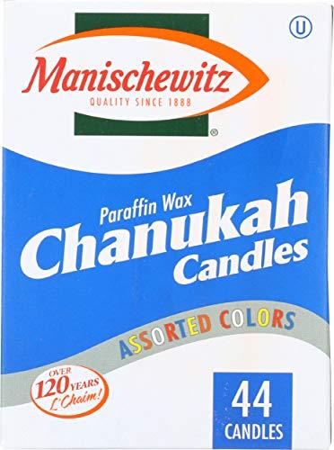 Manischewitz Chanukah Candles, 44 ct