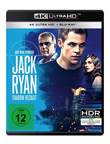 Jack Ryan - Shadow Recruit (4K Ultra HD) (+ Blu-ray 2D)