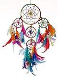 Rooh dream catcher ~ Multi Colour 4 Tier ~ Handmade Hangings for Positivity