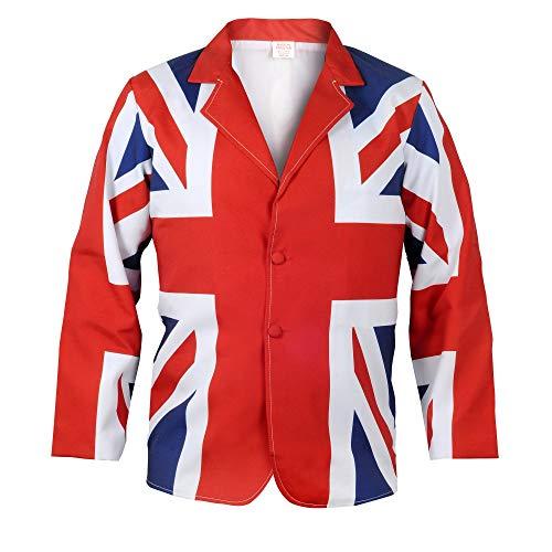 Union Jack Wear Union Jack Flag Classic Style Jacket L Union Jack
