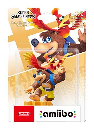 amiibo Banjo Kazooie (colección Super Smash Bros.)