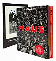 Maus: A Survivor's Tale : My Father Bleeds History/Here My Troubles Began/Boxed