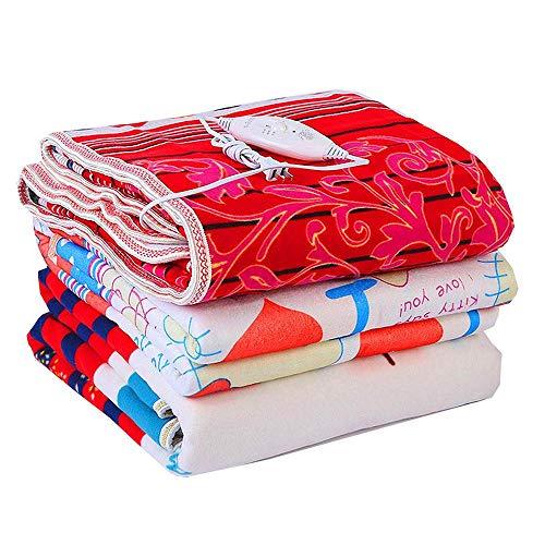 XYBB Electric Blanket Non-woven Fabric Adjustable Electric Heating Blanket Single/Double Heated Blanket Electrique Carpet Heated Double