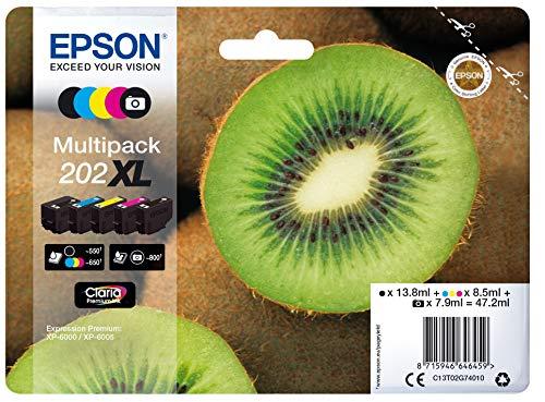Epson T02G740 5 Pack Inkjet / inyección de Tinta Cartucho Original