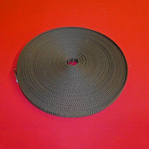 Easy-Shadow - Hochwertiger Rolladengurt Breite 14 mm x Länge 10 m - braun extrem Gurt für Rollladen Mini Gurtband 10 meter Gurtzugband Zugband für Rolladen Rolladenwickler Aufzuggurt Minigurt Gurtzug Gurtzugband - braun