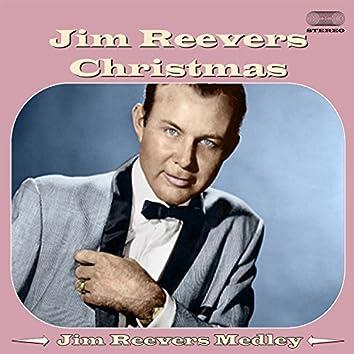 Jim Reeves Christmas Medley: Jingle Bells / Blue Christmas / Senor Santa Claus / An Old Christmas Card / The Merry Christmas Polka / White Christmas / Silver Bells / C-h-R-I-s-T-M-a-S / O Little Town of Bethlehem / Mary's Little Boy Child / Adeste Fidele