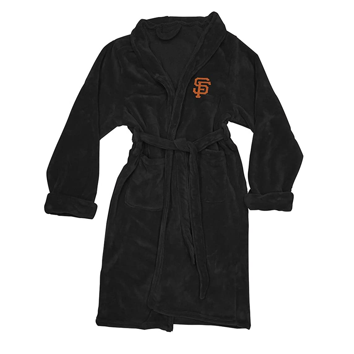 The Northwest Company MLB San Francisco Giants Men's Bathrobe, One Size, Multicolor