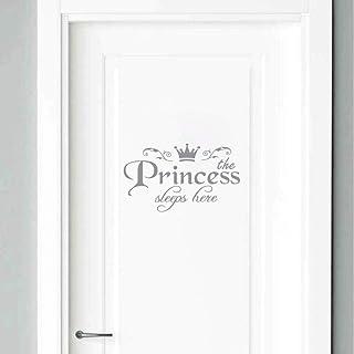 Tony plate Princesse Décor À La Maison Stickers Muraux Décalcomanie Chambre Porte Vinyle Art Mural Stickers Muraux pour Fi...
