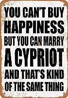キプロスの壁の金属のポスターと結婚することができますレトロなプラークの警告ブリキのサインヴィンテージの鉄の絵画の装飾オフィスの寝室のリビングルームクラブのための面白いハンギングクラフト