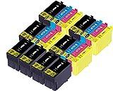 20 Douglas Inks Cartuchos de Tinta compatibles con Epson 27XL Epson 27 Epson WF-7210 DTW Epson WF-7710 DWF Epson WF-3620DWF Epson WF-3620 Epson WF-7620 Epson WF-7610DWF Epson WF-7720 DTWF