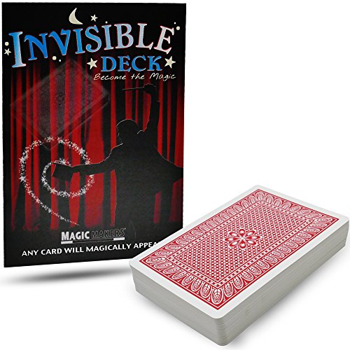 Invisible Deck Trick by Magic Makers - Red or Blue