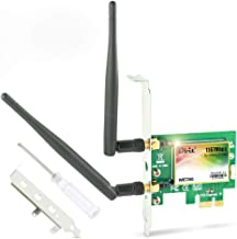 Ubit AC 1200Mbps Bluetooth WiFi Card,Wireless WiFi PCIe Network Adapter Card 5GHz/2.4GHz..