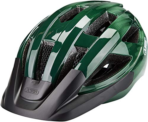 ABUS Macator Rennradhelm - Sportlicher Fahrradhelm für Einsteiger - für Damen und Herren - 87239 - Opal-Grün, Größe S