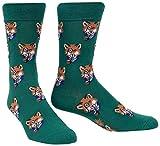 Sock It To Me Men's The Smoking Fox Socks