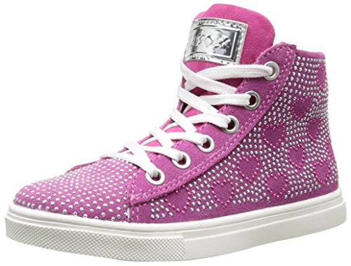 Asso 39200, Sneakers Hautes Fille, Rose (Fuxia), 30 EU