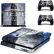 Playstation 4 Skin Set - Star Warrior HD Printing Vinyl Skin Cover Protective for PS4 Console and 2 PS4 Controller by Mr Wonderful Skin