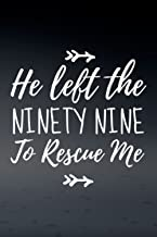 Day Planner: He Left The 99 To Rescue Me Matthew 18 12 Bible