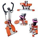 Fitness Stepper Twister Ffitnes, professionelles Multifunktionswerkzeug für Heim-Fitness, Unisex, Erwachsene, Weiß, Medium