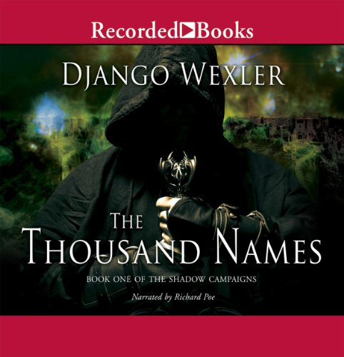 The Thousand Names audiobook cover art