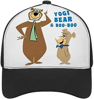 LiuXingWang Yogi Bear Adjustable Strapback Cap Baseball Cap Cotton Dad Hat Cap