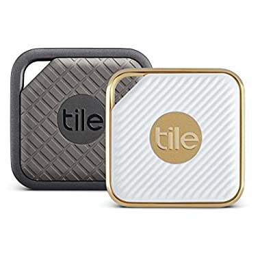 Tile Combo Pack - Key Finder. Phone Finder. Anything Finder (2 Tile Sport and 2 Tile Style) - 4 Pack