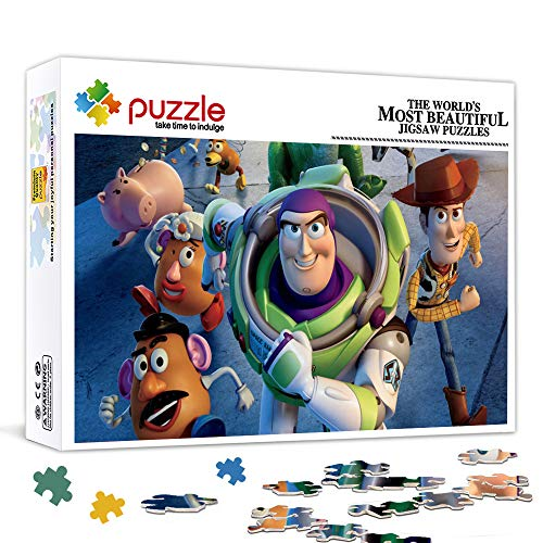 Toy Story Hu Di, Buzz Lightyear Mr. Egghead Jigsaw Game Juguetes interesantes Regalo personalizado Family Puzzle Game 38x26 cm