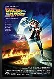 1art1 Retour vers Le Futur Poster et Cadre (MDF) - Michael J Fox, Christopher Lloyd (91 x 61cm)