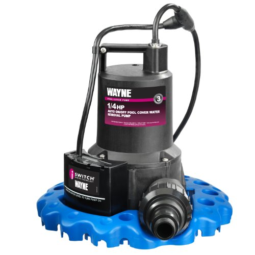 Our #5 Pick is the Wayne Pool Cover Pump