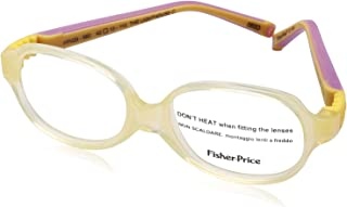 Fisher-Price Oval Lens Plastic Medical Glasses for Kids - Yellow
