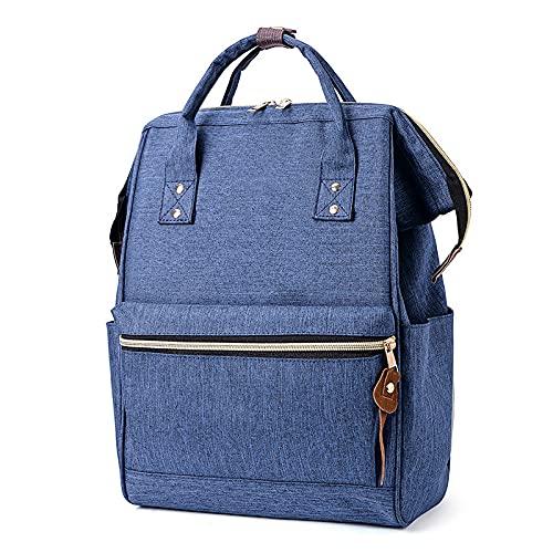 MIMITU 2021 Estilo coreano Oxford Mochila Mujeres adolescentes mochilas escolares para adolescentes, azul oscuro