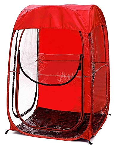 Outdoor Sports Event Canopy Fishing Canopy PVC Pop-up Canopy Bag Football Viewing Canopy For Football Games Fishing Canopy Outdoor Sports Game Viewing Tent Lightweight Portable Tent Fishing For 1 Pers