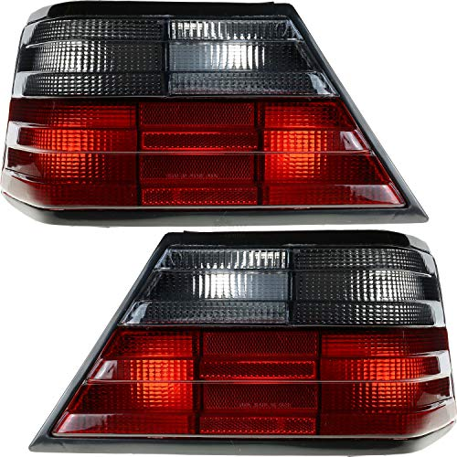 Rückleuchten Heckleuchten Set W124 E-Kl 85-95 Grau/Rot