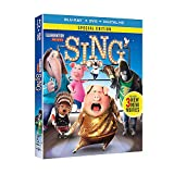 Sing (Blu-Ray/DVD) Combo Matthew McConaughey, Reese Witherspoon