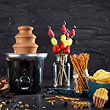 Princess Schokoladenbrunnen – für jede Schokolade und Karamell mit Schmelz- und Fließfunktion, 292994 - 5