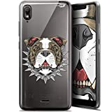 Wiko View 2 Go Case for 5.93 Inch Ultra Slim Doggy Design