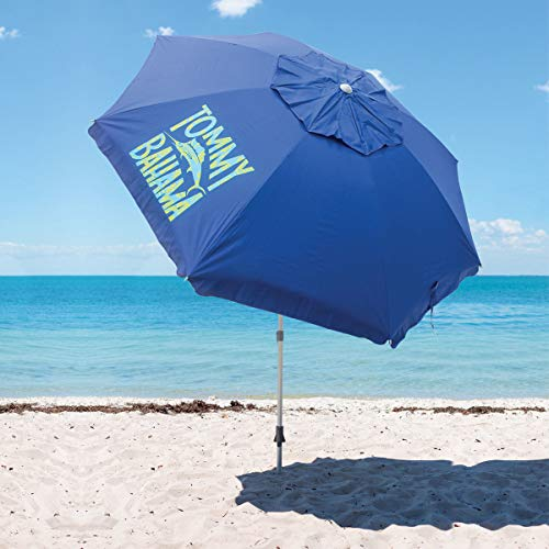 TECNOVOZ Sombrilla para la Playa Tommy Bahama 1327294 Azul