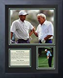 Legends Never Die Arnold Palmer and Tiger Woods Collage Photo Frame, 11' x 14'