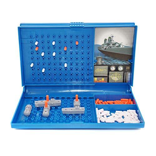 Taoytou Battleship Sea Battle Tradicional Diversión Familiar Combat Estrategia Juego de Mesa Juguete