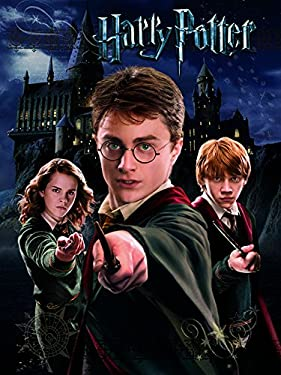 Harry Potter Canvas, 60 x 80 cm, Harry, Ron and Hermione