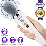Vibrate Wand Massager, Handheld Cordless and Powerful, Deep Tissue Massage, Waterproof, USB...