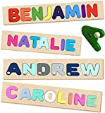 Made in USA Wooden Personalized Name Puzzle for...
