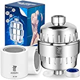 AQwzh Shower Filter,17-Stage KF-200 Shower Head Filter Removes Chlorine and Harmful Substances-Water Softener High Output Dry Itchy Skin