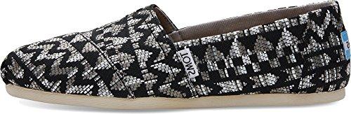 TOMS TOMS Damen Classic Espadrille Schuhe Schwarz 36.5 EU