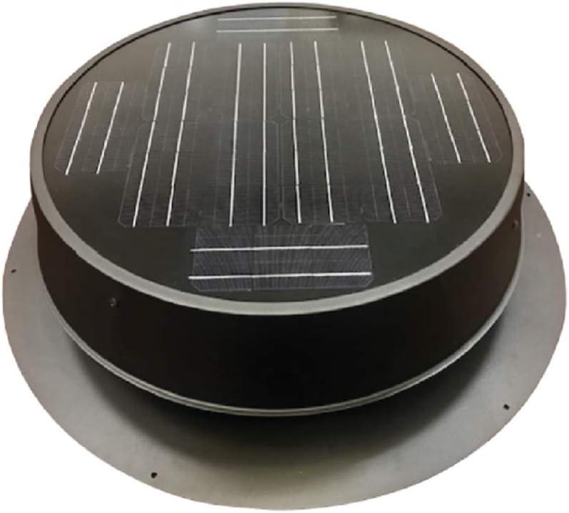 Ultra Low-Profile 35-watt Natural Light Solar Attic Fan