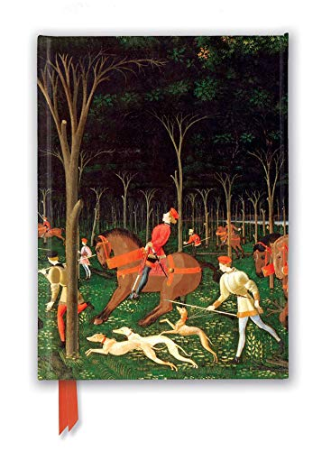 Ashmolean Museum: The Hunt by Paolo Uccello (Foiled Journal) (Flame Tree Notebooks)