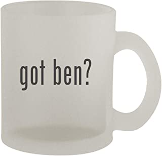 got ben? - 10oz Frosted Coffee Mug Cup, Frosted