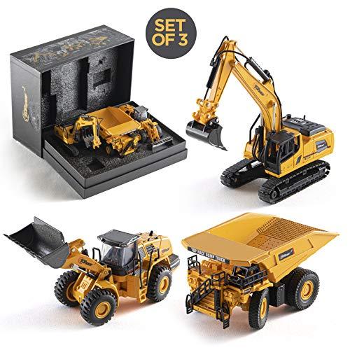 Top Race Turmdrehkran-Spielzeug aus Metalldruckguss zum Modellieren Enthusiast 1:50 TR-134D