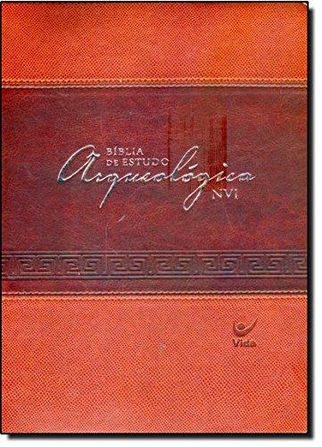 Bíblia de Estudo Arqueológica NVI. Capa Luxo Marrom